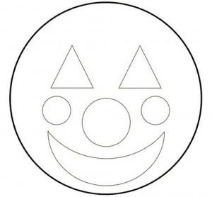 A Cara do Palhaço Circulos-300x278
