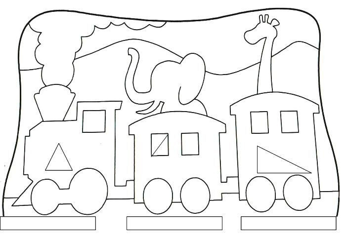 espaÇo aprendente desenhos com formas
